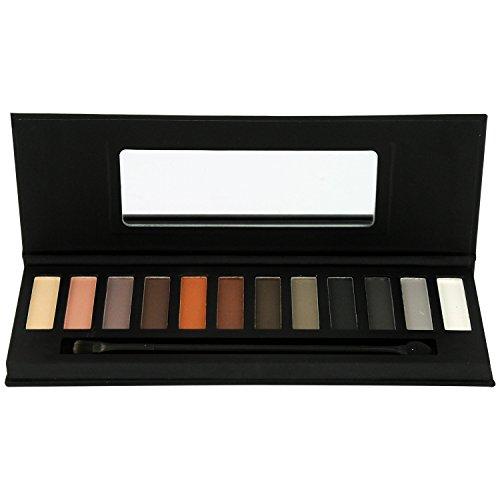 Gloss! Palette de Maquillage Nude & Smoky 14 Pièces, Coffret Cadeau-Coffret Maquillage