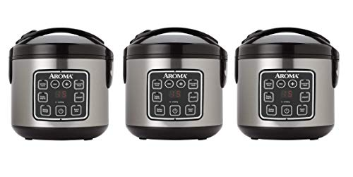 Best Prices! Aroma Housewares ARC-914SBD Digital Cool-Touch Rice Cooker and Food Steamer, 8-Cup (Coo...