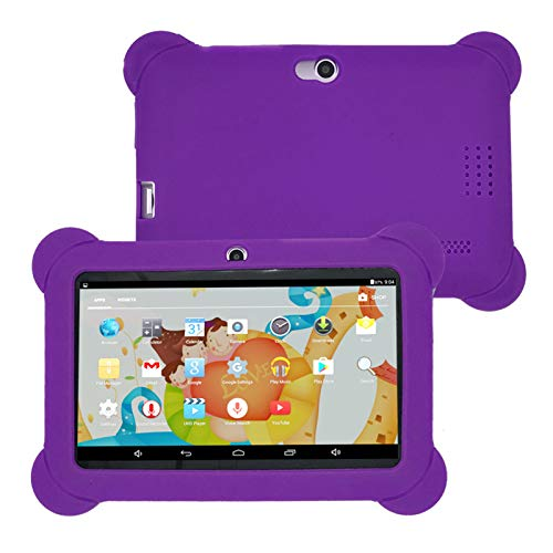 Tableta Kids Edition Pantalla Fire HD de 7 Pulgadas, 512MB + 4 GB, Compatible con Conexión Bluetooth Tableta de Aprendizaje para Niños,Púrpura