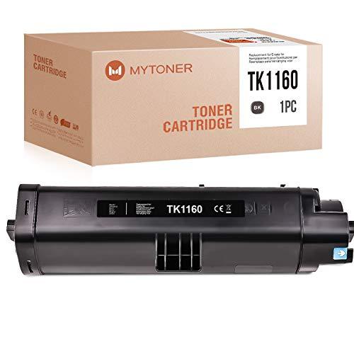 MYTONER Kompatibel für Kyocera TK-1160 Toner für Kyocera ECOSYS p2040dn p2040dw p2050dn 7200 Seiten (Schwarz)