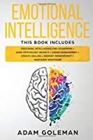 Emotional Intelligence: 6 Books in 1: Emotional intelligence for Leadership + Dark Psychology Secrets + Anger Management + Empath Healing + Memory Improvement + Narcissist Nightmare