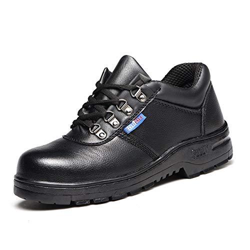 De enige goede kwaliteit Meerdere Scenarios Veiligheidsschoenen, Veiligheidsschoenen, Anti-smashing, Anti-slip, Anti-slip Lederen Schoenen Bescherm Voet