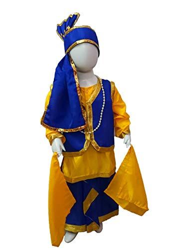 BookMyCostume Punjabi Folk Dance Costume Bhangra for Boys and Men