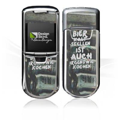 DeinDesign Nokia 8800 Monaco Case Skin Sticker aus Vinyl-Folie Aufkleber Bier Kochen Sprüche