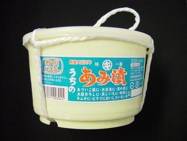 【送料込】 漬けアミ 温かいご飯やお酒のお供にあみ漬。有明名産 あみ漬け1kg 樽入り アミの塩辛 漬あみ