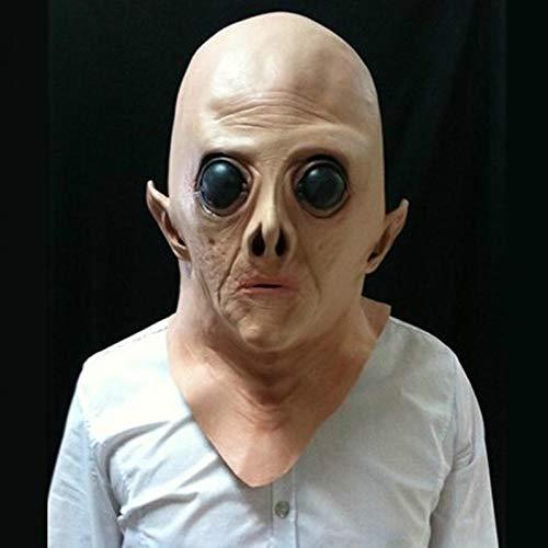 KVBJHNU Halloween Maske Horror Maske Schädel Party Spectre Dead Zombie Maske Cosplay Realistische Requisiten