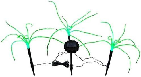 Wild Grass Solar Garden Lights. 3 Green Spring new work Trust 1.2 foo Sprigs of