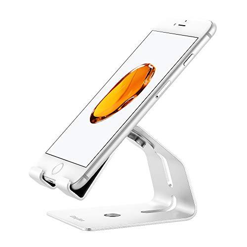 EasyAcc Tablet Ständer Verstellbare Universal Handy Halterung Dock für iPad Pro 10.2 iPhone 11 Pro, Xs, XR, X, Samsung S10 S9 Galaxie Note 10.1, Huawei Mate30, Schreibtisch Kindle Nintendo Switch