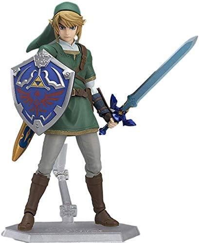 cheaaff Zelda Anime Actionfiguren Skyward Schwert Link Spielzeug Modell Puppe Figur Zelda Prinzessin Brinquedos PVC Modell Ornamente Geschenk Statue Anime Puppe