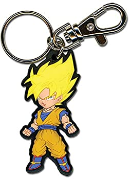 Great Eastern Entertainment Dragon Ball Z SS Goku PVC Keychain 2