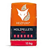 PALIGO Holzpellets Red Heizpellets Hartholz Eiche Wood Pellet ko Energie Heizung Kessel Sackware 6mm 15kg x 65 Sack 975kg / 1 Palette Heizfuxx