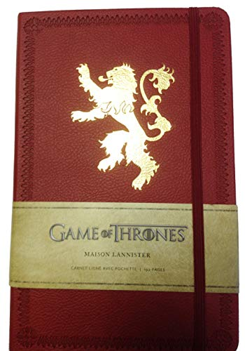Game of Thrones (le Trône de Fer) - Carnet Luxe Lannister