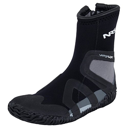 NRS Men's Paddle Wetshoes (Black/Gray, 14)