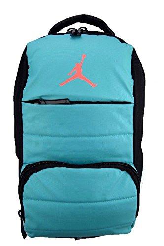 NIKE Air Jordan All World Gym Jumpman Backpack School Bag Light Retro / Hot Lava