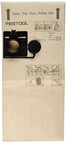 Festool-Sacchetto di carta, usa e getta, 456871