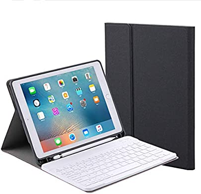 WULAU Wirless Tastatur H lle Keyboard Case Ultraleichte Bluetooth Schutzh lle mit Smart Power Schalter f r 10 5 iPad Pro Winkelverstellbar Schätzpreis : 32,05 €