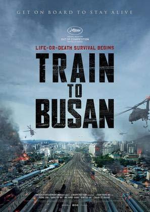 Train to BUSAN – Korean Movie Wall Poster Print - A3 Size Plakat Größe