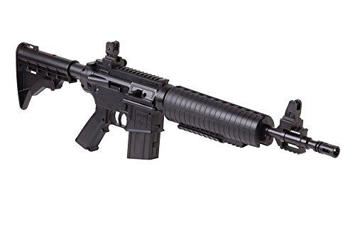 Crosman M4-177 Tactical Style Bolt Action Variable Pump .177-Caliber Pellet And BB Air Rifle , Black
