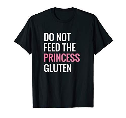 Funny Gluten Free Design Gluten Free Princess Designs T-Shirt