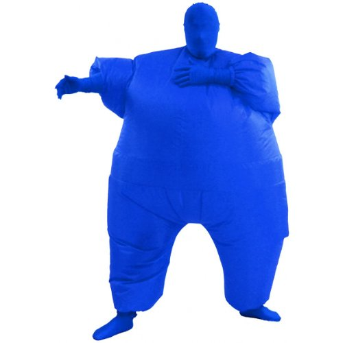 Inflatable Adult Chub Suit Costume (Blue)