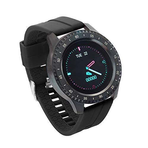 Sami - Ocean - Smartwatch, Smartband, Pulsera de Actividad - Especial natación. Color Negro. para Android y iOS Función: GPS, Waterproof, presión sanguínea, Fuerza G, Multideportivo.