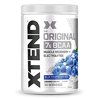 Scivation Xtend BCAA Powder, Branched Chain Amino Acids, BCAAs, Blue Raspberry, 30 Servings (B00LALNIOI) | Amazon price tracker / tracking, Amazon price history charts, Amazon price watches, Amazon price drop alerts