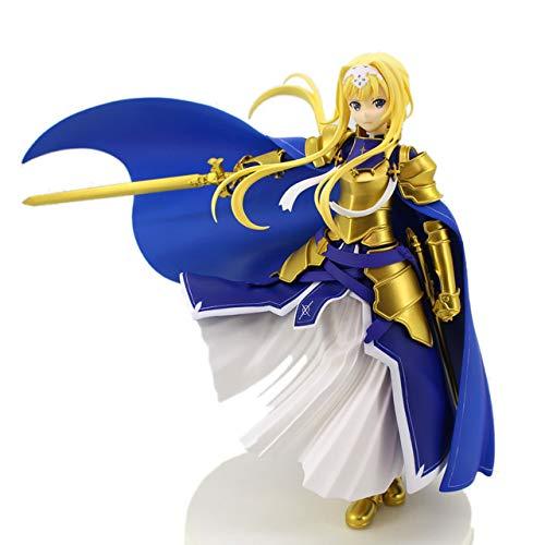 Originale Furyu Action Figure Sword Art Online Alicization Asuna Alice Integrity Knight PVC Figure Model Giocattoli SAO Figurine, Alice