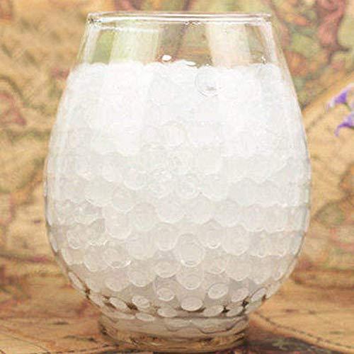 MZY1188 500 stücke Garten Topfpflanze Ornamente! Wasserpflanze Blume Gelee Kristallboden Schlamm, Wasserperlen Gel Perlen Kugeln Dekoration Vase Kristall