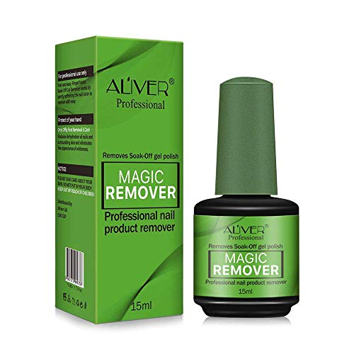 Nail Polish Remover,Remove Gel Nail Polish Within 2-3 Minutes - Quick & Easy Polish Remover - No Need For Foil, Soaking Or Wrapping, 0.5 Fl Oz