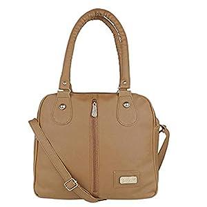 Kausbabi Women's Shoulder Bag (Beige)