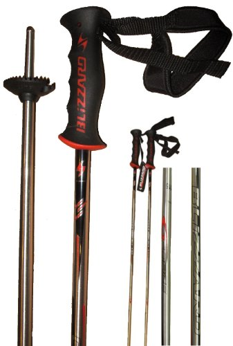 BLIZZARD G-FORCE Bâtons de SKI en alliage 7075 F56 14 mm 110 cm