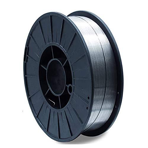 Vector Welding - Alambre de soldadura Flux para dispositivos de soldadura MIG MAG - E71T-GS - 0,8 mm de grosor - 5 kg - D200 - NoGas - Inoxidable