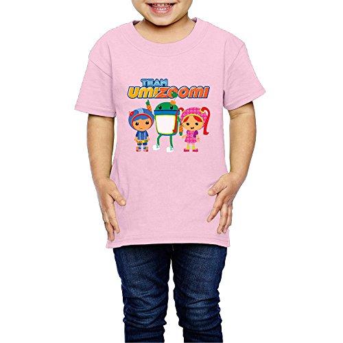 RobertBaum Kids Toddler Team Umizoomi Milli Little Boy's Girl's Tee Shirt Size