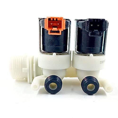 ELECTROTODO Electroválvula Doble Lavadora Fagor, Edesa, Aspes AS0016764 - L34N010A2 - L34N011B6