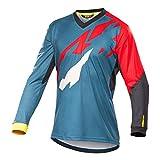 Bwchuxin Camisetas De Ciclismo MTB para Hombres, Maillot De Ciclismo De Manga Larga, De Secado Rápido, De Ciclismo De...