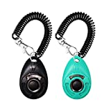 Dog Training Clicker with Wrist Strap - OYEFLY Durable Lightweight...