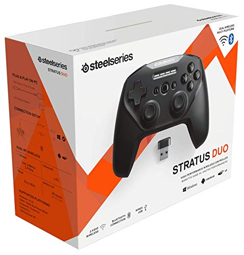 SteelSeries Stratus Duo - Wireless Gaming Controller - Android (Fortnite), Windows, Oculus Go, Samsung Gear VR - 6
