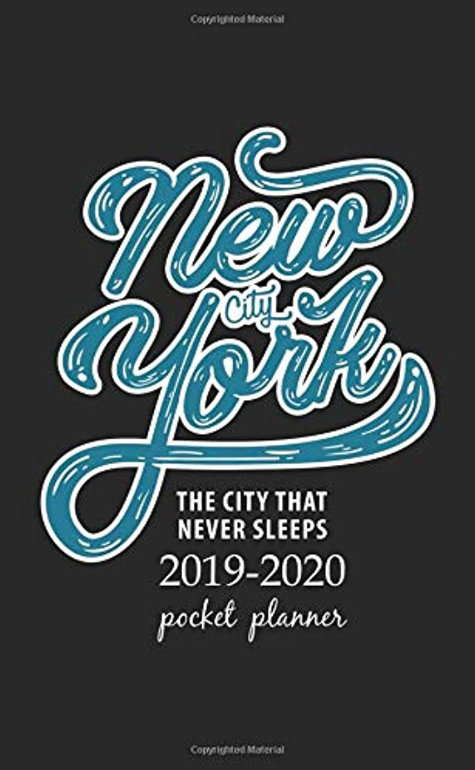 区くつろぎ敬意を表して2019-2020 Pocket Planner: 2 Year Pocket Monthly Calenda Planner  Schedule Organizer Appointment Journal Notebook 4 x 6.5 inch And