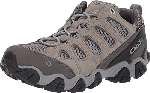 Oboz Sawtooth II Low B-Dry Hiking Shoe - Women's Frost Gray/Sage 9.5