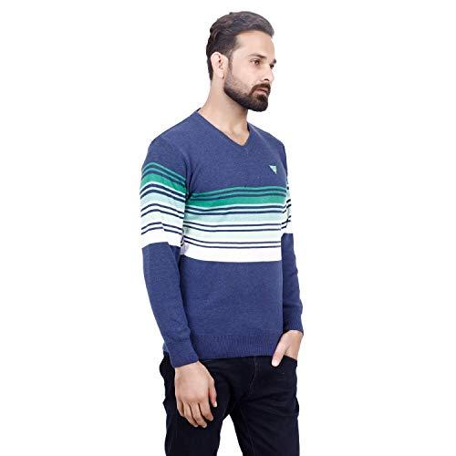 Axxelus Woolen Full Sleeve Regular Fit Sweater for Men
