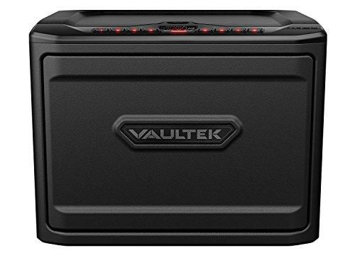 Vaultek MX Bluetooth Safe High Capacity Smart Keypad Handgun Safe Multiple Pistol Storage Smart Safe with Auto-Open Door and Rechargeable Battery (Non-Biometric+Bluetooth)(Black)