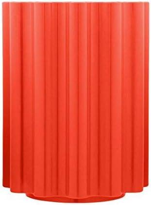 Kartell Colonna Sgabello 34.5 x 46 cm Legno Rosso