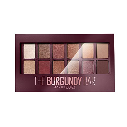 Maybelline New-York – Palette Fards à Paupières – The Burgundy Bar – 12 couleurs