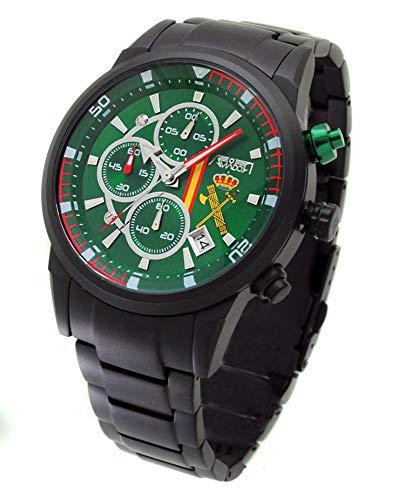 Pack Reloj + Correa Guardia Civil Aviador AV-1212-11