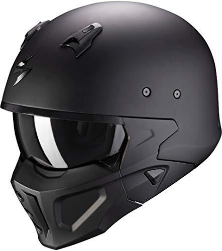 Scorpion Motorradhelm COGrun-X Matt Black, Schwarz, M