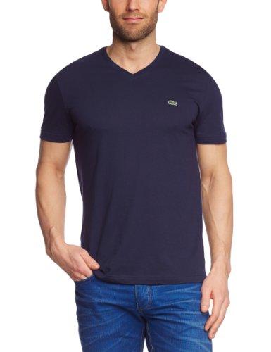 Lacoste Herren T-Shirt,Blau (Navy Blau),Large