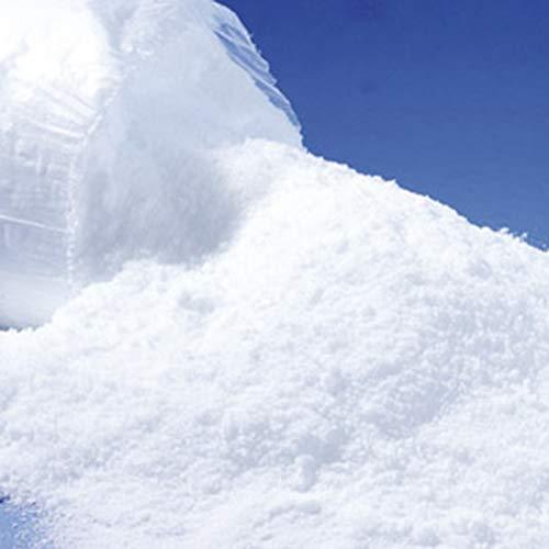 Annastore 6 Liter Kunstschnee Alpin, sehr fein wie echter Pulverschnee - Dekoschnee - Pulverschnee -Schnee - Schneedeko