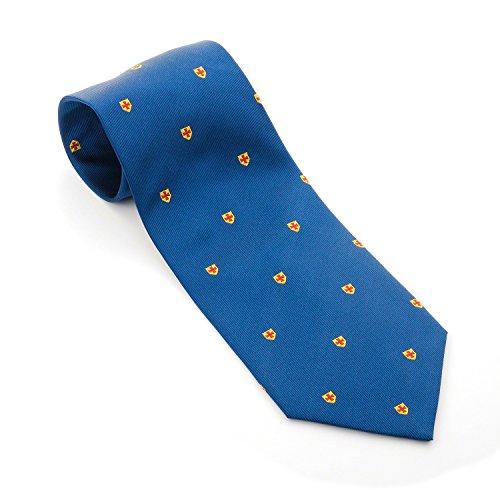 Caballeros templarios masónico seda tejido corbata