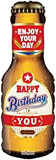 Beer Bottle Happy Birthday 36'' Mylar Balloon Birthday Party Decorations Supplies