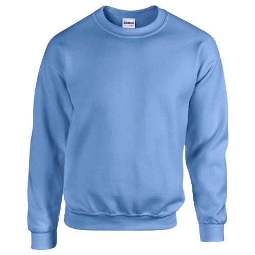 Gildan Herren Sweatshirt, Blau, L